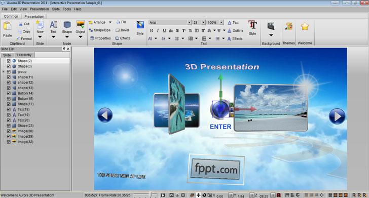 3D Presentation Software