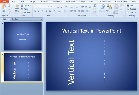 themes in microsoft powerpoint